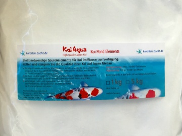 KoiAqua Koi Pond Elements - Mineralien 1 kg