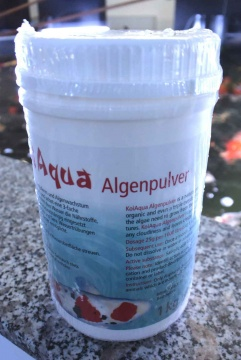 KoiAqua Algenpulver 1Kg