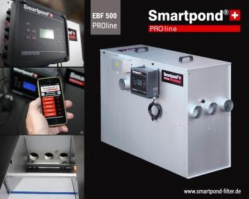Smartpond® EBF PROline; G-Modell Smartpond® EBF PROline 500G EU (inkl.G-Verrohrung)